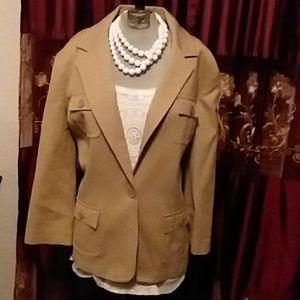 Sharp Front 4 pocket blazer Jacket   (125)